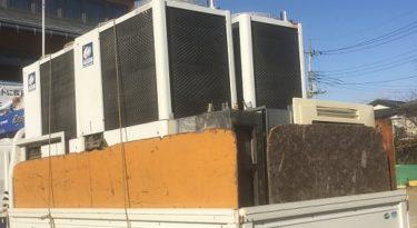行田市の幼稚園で工事に伴い業務用エアコンを回収処分しました