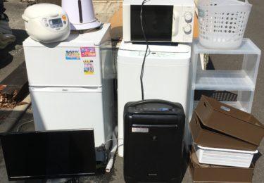 厚木市の一人暮らし1Rアパートから不用品を回収