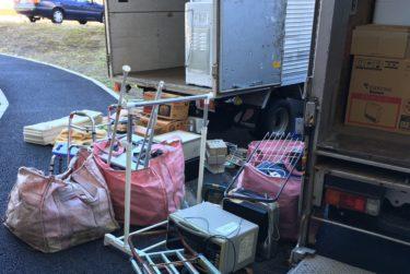 川越市で引越ゴミを2t車で不用品回収しました