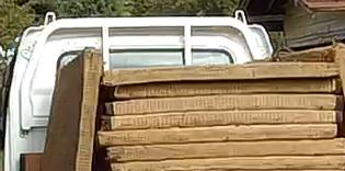 相模原市で不用品回収事例。畳・工作機械などを階段搬出