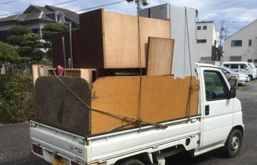 八王子市の学生寮からタンスなどの不用品を回収