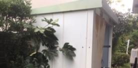 平塚市で物置を解体撤去