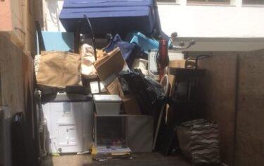 和光市で引越ゴミを回収