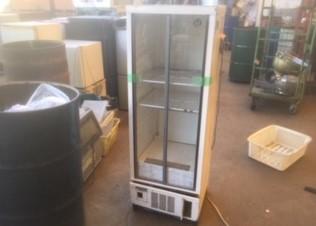 横浜市神奈川区でホシザキ製冷蔵ショーケースを回収