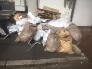 さいたま市浦和区でリフォーム工事の廃材を回収