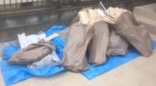 草加市でフローリング廃材を回収